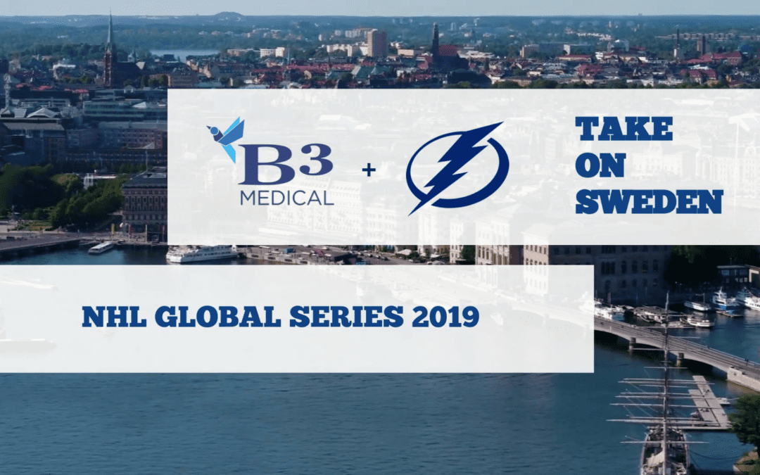 Recap: B3 & The Bolts in Sweden🇸🇪! | NHL Global Series 2019